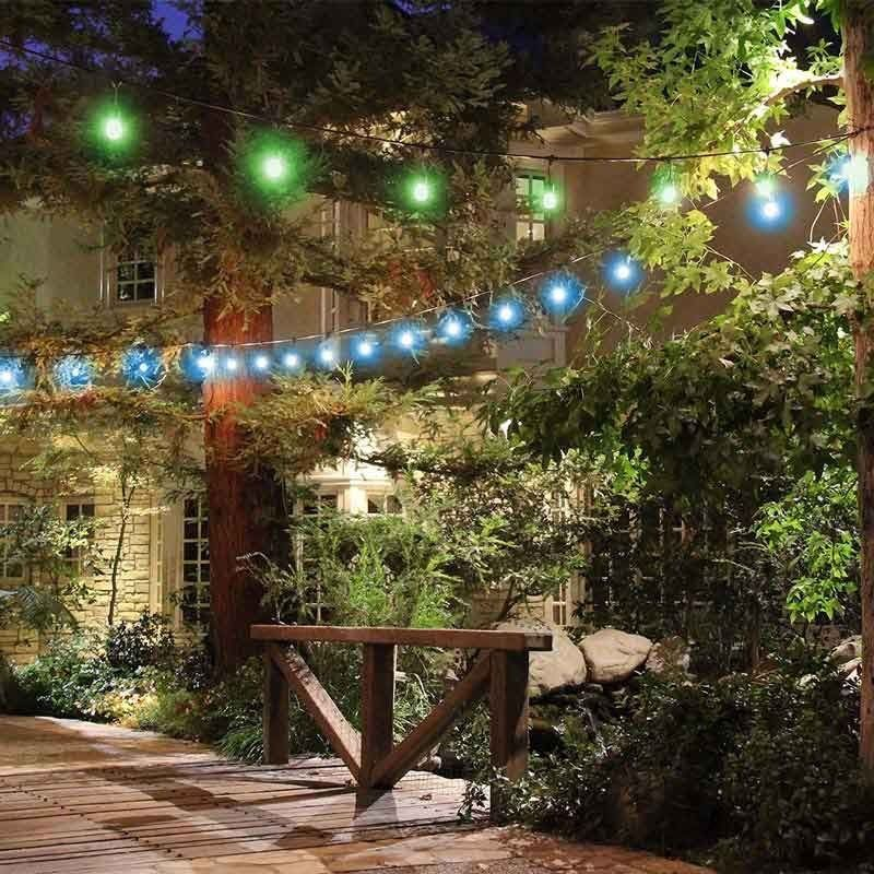 Feit 48ft 146m led indoor outdoor waterproof colour changing feit 48ft 146m led indooroutdoor waterproof colour changing string lights aloadofball Images